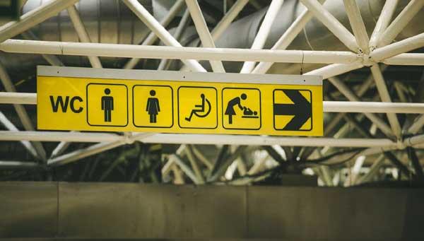 Toilettes - Maladie de Crohn